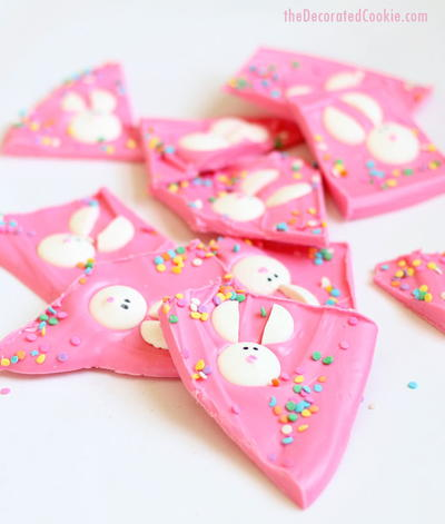 Cute Bunny Easter Bark Recipe