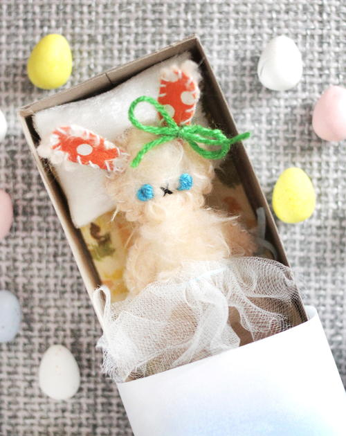 Easter Bunny DIY Doll