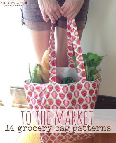 To the Market 14 Grocery Bag Pattern Ideas
