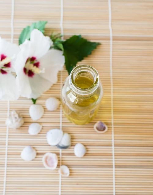 Coconut DIY Body Oil with SPF