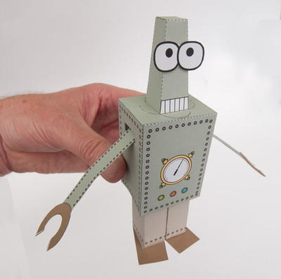 Paperbot Printable Paper Toy
