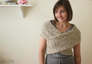 Wrap It Up Crochet Sweater