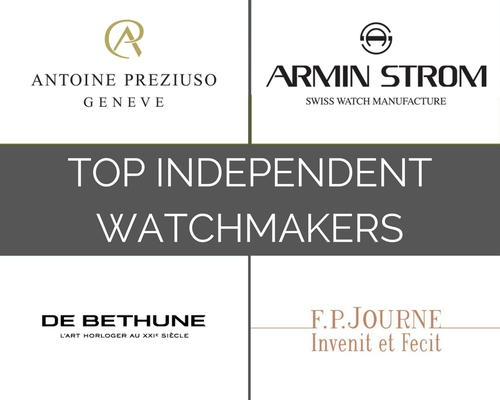 The Top 23 Independent Watchmakers