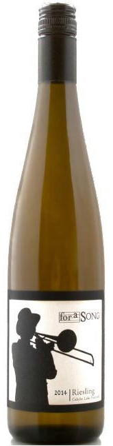 For a Song Caliche Lake Riesling 2014