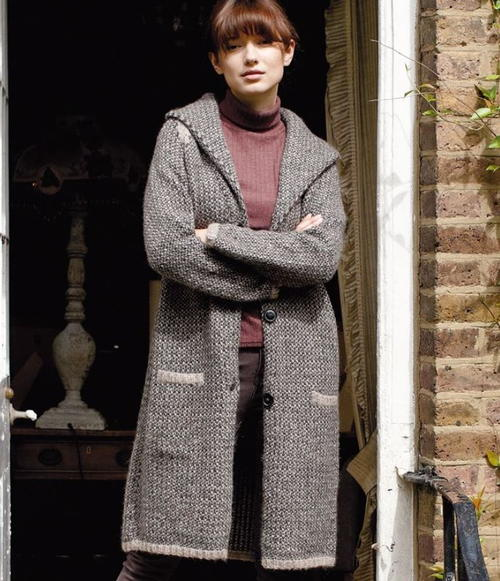 London Morning Knit Cardigan Pattern