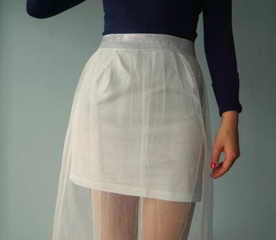 Stylish DIY Tulle Skirt