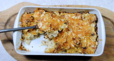 Spiced Cauliflower Cheese