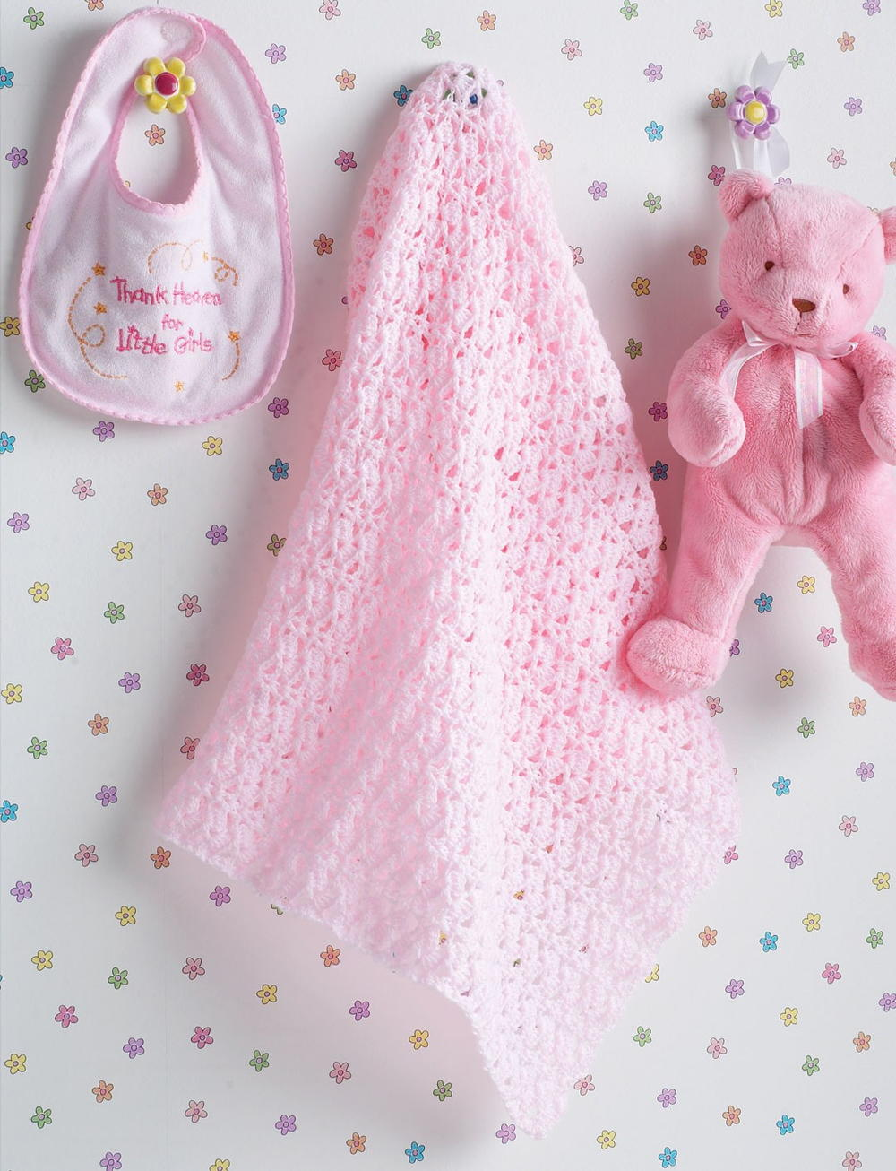 Beautiful Crochet Baby Blanket | FaveCrafts.com