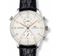 Honoring Milan, Paris, and Munich: The IWC Portugieser Chronograph Rattrapante