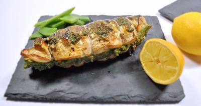 Seaside Stuffed Mackerel