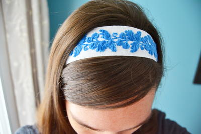 The Easiest No Sew Headband