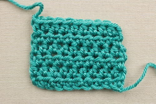 Example of the Half Double Crochet Stitch
