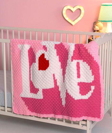 Heart Throb Blanket Allfreecrochet Com