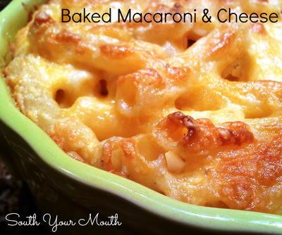 Sinfully Sinful Baked Macaroni and Cheese