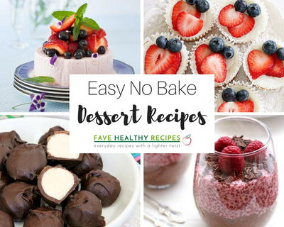28 Easy No Bake Dessert Recipes