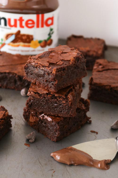 The Best Nutella Brownie Recipe