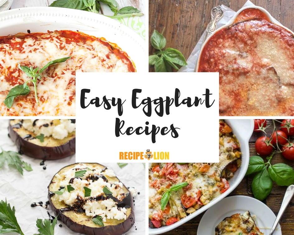 easy eggplant recipes - photo #22