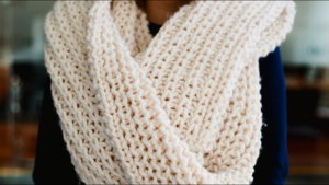 How to Turn a Scarf Into an Infinity Scarf