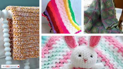 32 Cute Baby Blanket Crochet Patterns