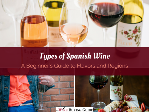 Types of Spanish Wine