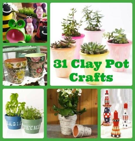Garden and Outdoor Craft Ideas  sc 1 st  FaveCrafts & 31 Clay Pot Crafts   FaveCrafts.com