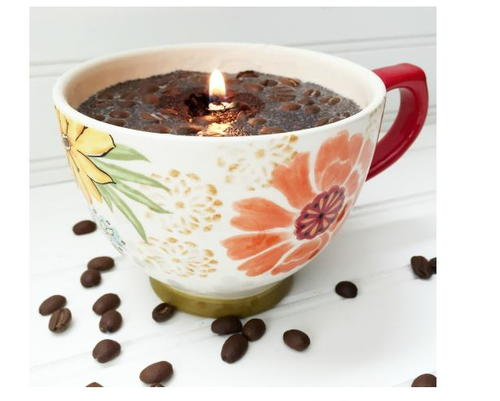 Easy DIY Coffee Candle