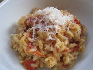 Slow Cooker Tomato Risotto