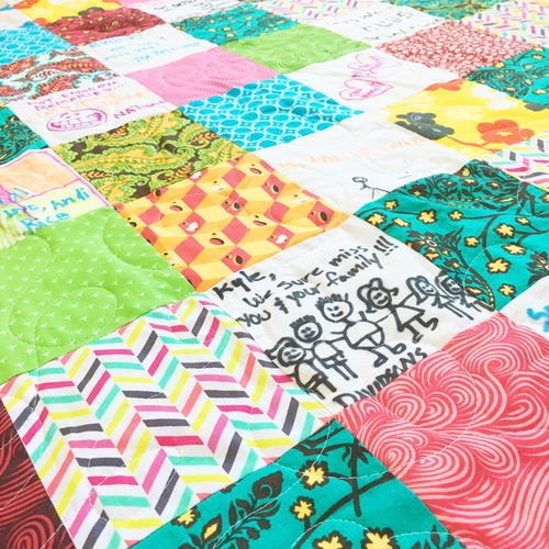 Friendship Charm Square Quilt Tutorial