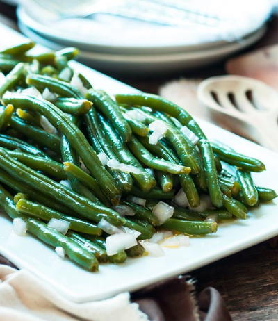 6 Ingredient Green Beans in 15 Minutes