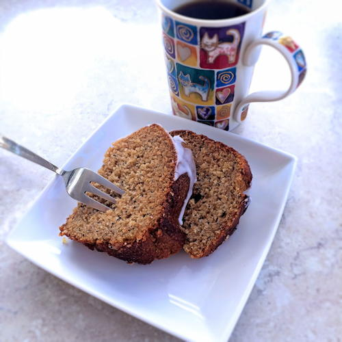 Wholewheat No Sugar Ricotta Cake