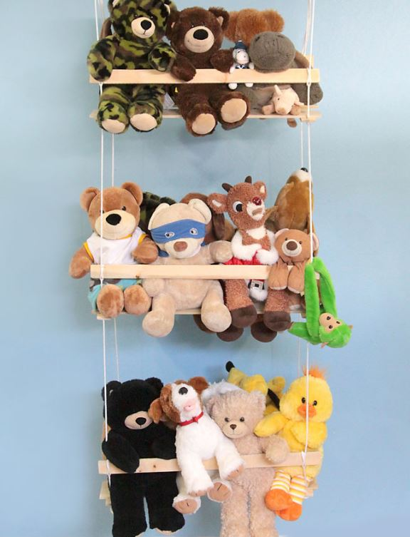 Hanging DIY Toy Organizer