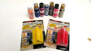 Painter's Pyramid and Paint Giveaway