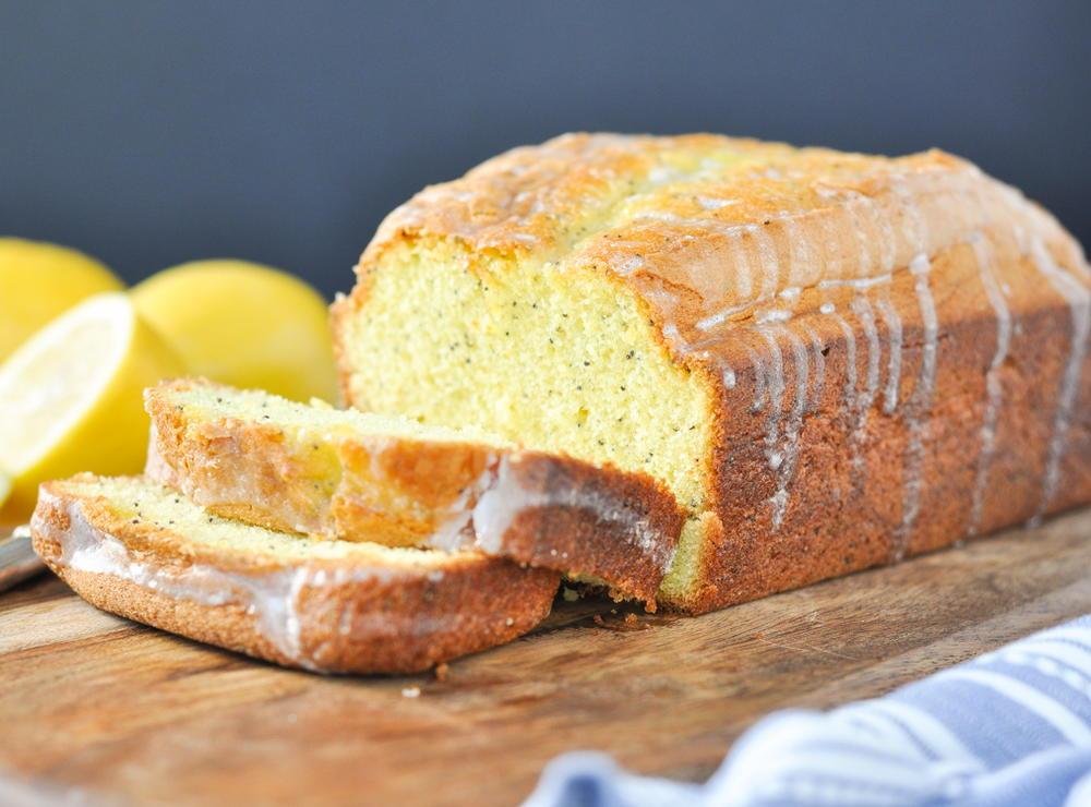 Easy Glazed Lemon Poppy Seed Bread Recipelion Com