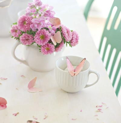 Simplest Little Butterfly Tea Bag Gift