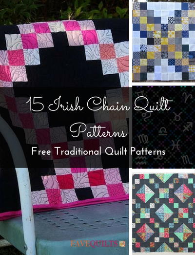 Irish Chain Quilt Patterns Free Traditional Quilt Patterns