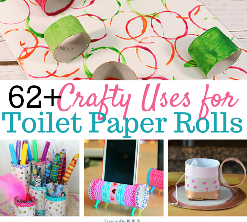 50 toilet paper roll crafts for Useful things to make out of paper