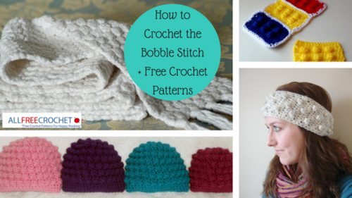 Learn Crochet Patterns : 8 Different Crochet Stitches: Learn to Crochet Something ...