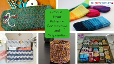 Crochet Free Patterns for Storage and Organization