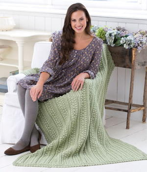 Aran Isle Throw