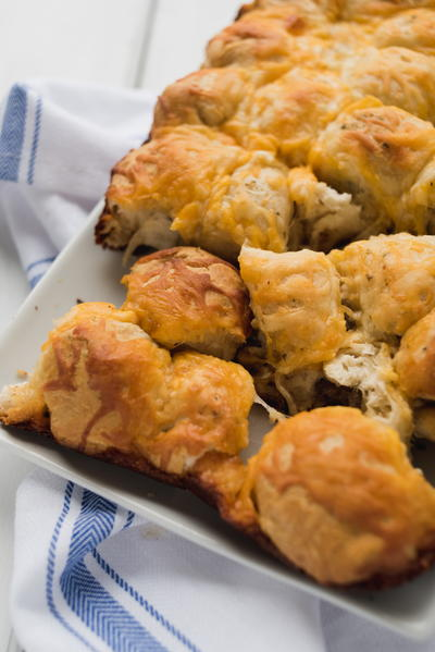 Sharable Breakfast Pull Apart Bread