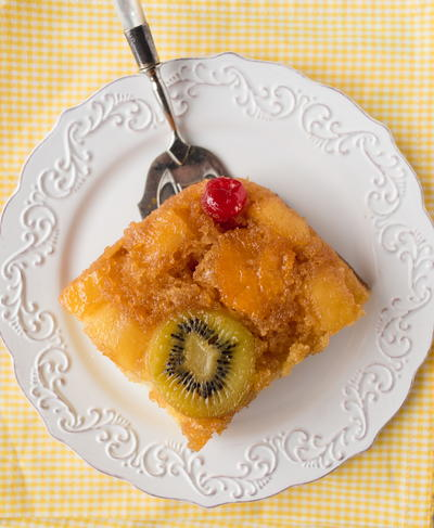 Pineapple Upsidedown Cake Mix Cake