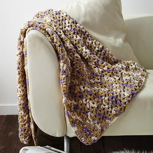 Unbelievably Easy Crochet Blanket