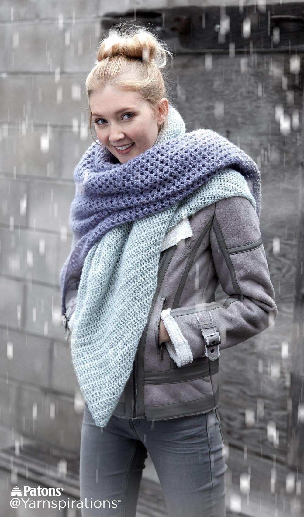 Crochet Lace Blanket Scarf Allfreecrochet Com