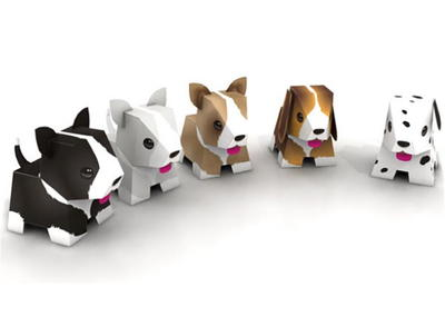 image about Puppy Printable named Lovely Printable Dogs
