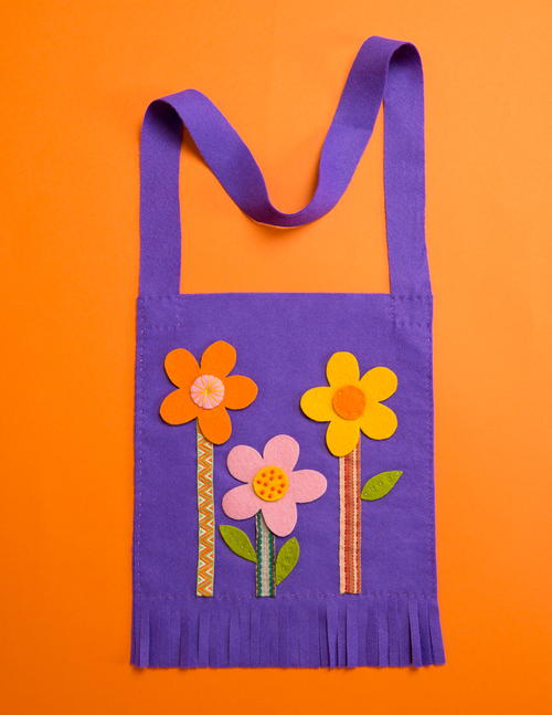 Simple to Sew Spring Flower Tote