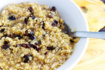 Brown Sugar Cinnamon Oatmeal