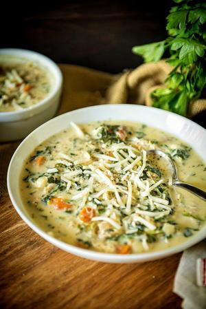 Olive Garden Chicken Gnocchi Soup Recipe Allfreeslowcookerrecipes Com