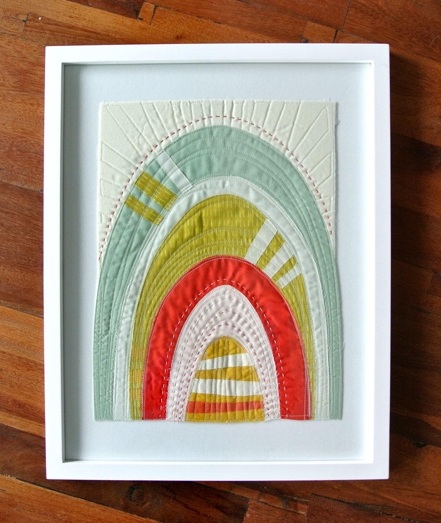 How To Frame A Mini Quilt Favequilts Com