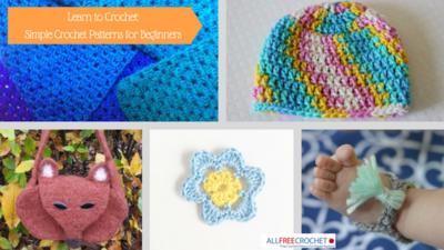 39 Easy Crochet Patterns For Beginners Allfreecrochetcom