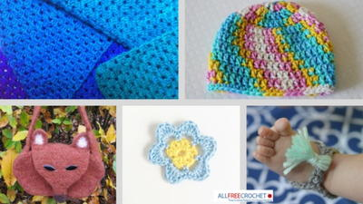 39 Easy Crochet Patterns for Beginners